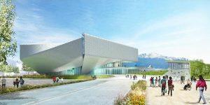 Groundbreaking Ceremony for the United States Olympic Museum and Hall of Fame