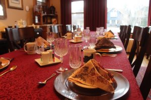 Our beautiful Dinning Room-St. Mary's B & B