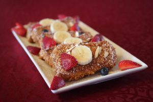 Delicious Fruit Topped French Toast - St. Mary's B & B