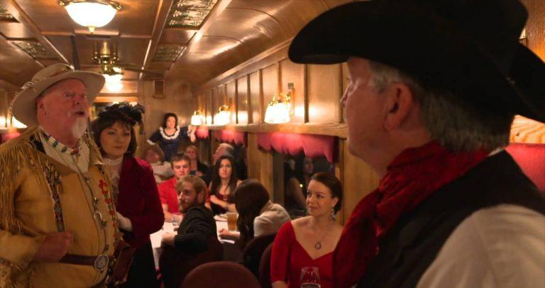 Murder Mystery Train Ride and Dinner