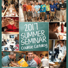 2017 Summer Seminar Course Catalog - numismatic learning