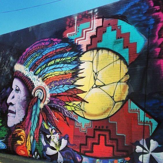 Art Murals in Colorado Springs, Old Colorado City and Manitou Springs