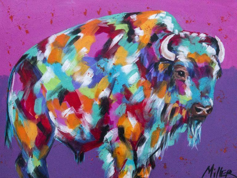 Buffalo Majesty by Tracy Miller