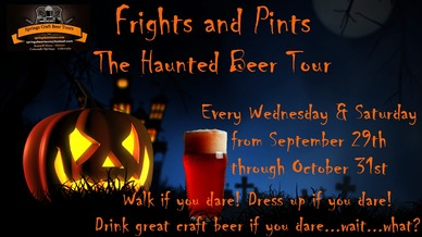 Frights and Pints Haunted Beer Tour