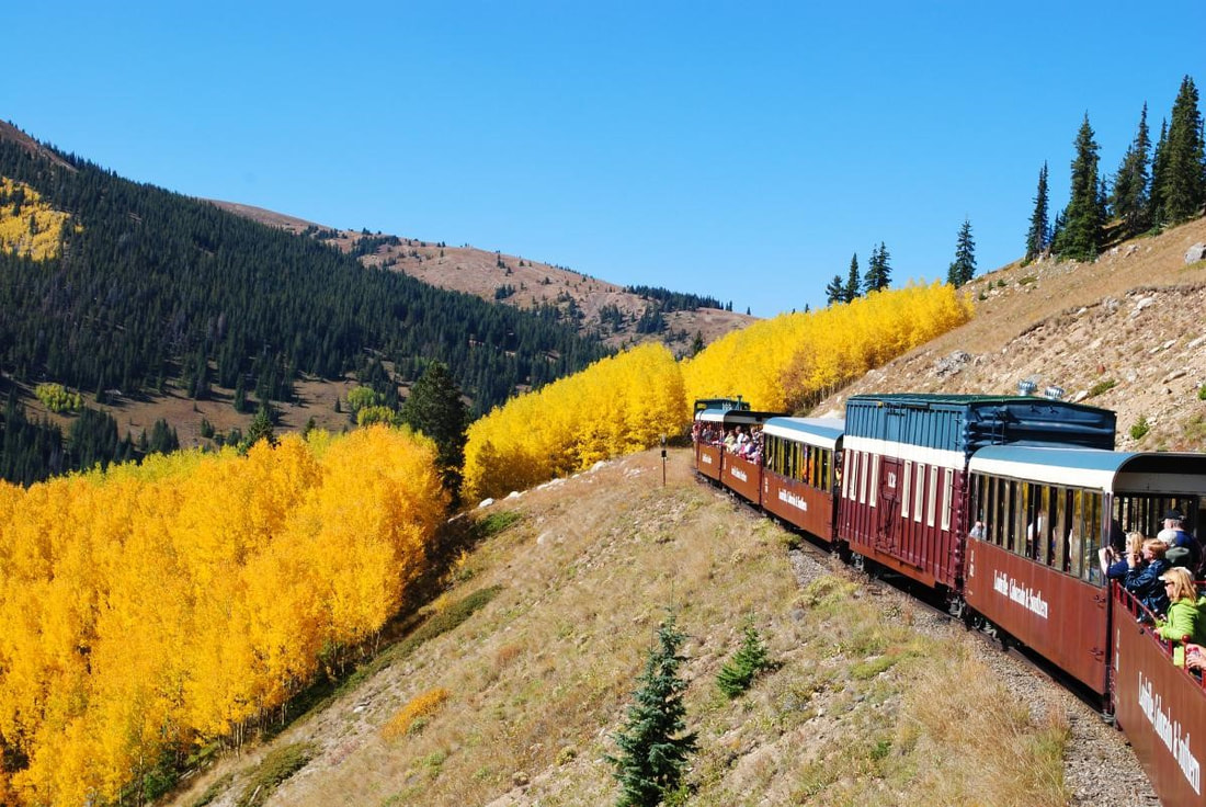Colorado Fall Railroad Tour