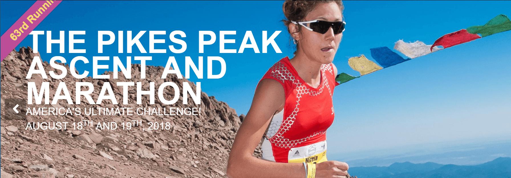Pikes Peak Ascent and Marathon