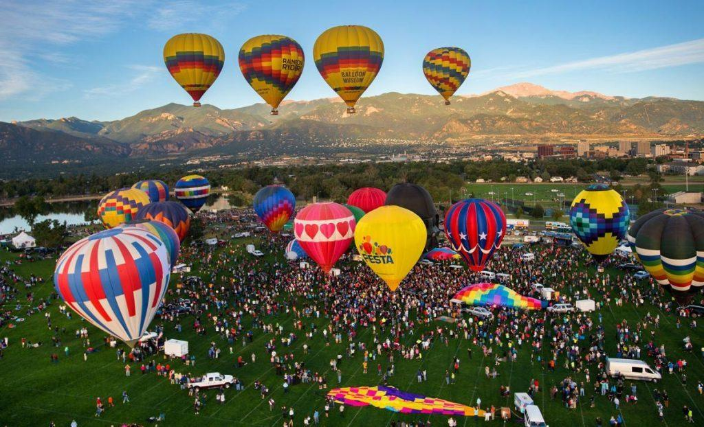Colorado Springs Balloon Festival Lodging