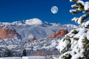 Stay at a B&B to enjoy a Colorado Springs Winter