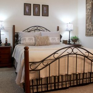 The Elm Suite is where you should stay in Colorado Springs. Beautiful Queen size bed.